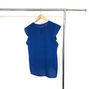Zara Tops - Zara royal blue blouse - L